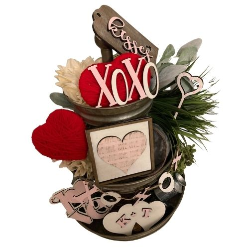 Valentines Day Tiered Tray