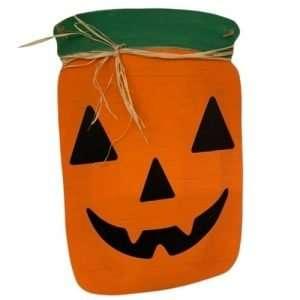 Jack-O-Lantern Mason Jar