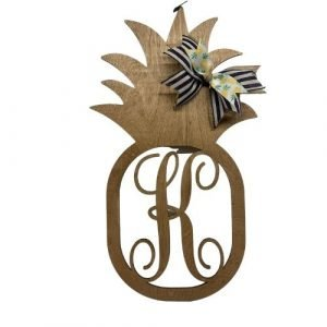 Pineapple monogram