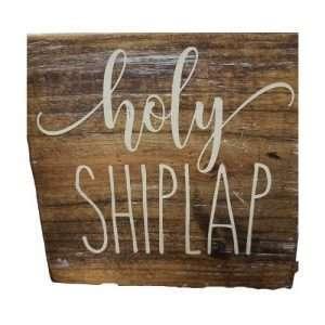 Holy Shiplap