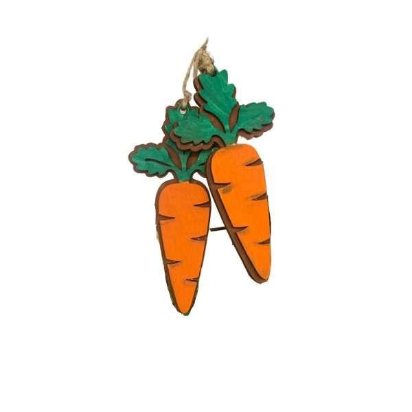 Easter Carrot Pair