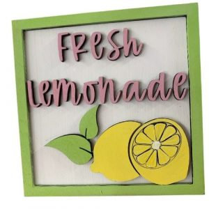 Fresh Lemonade Sign - Small