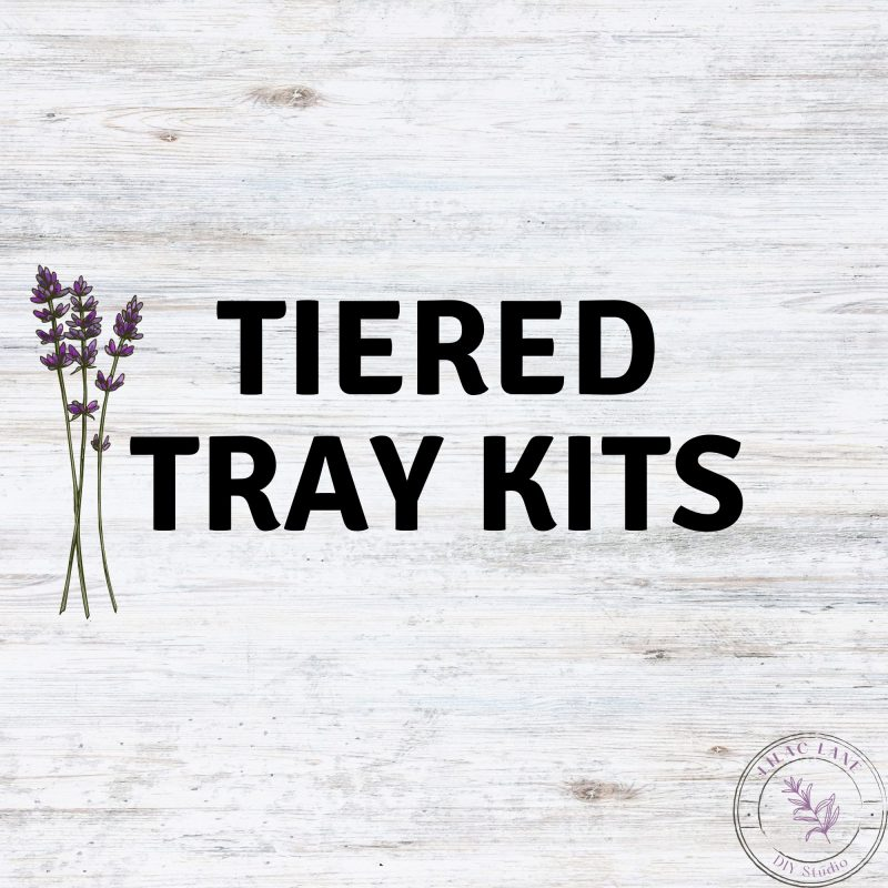 Tiered Tray Kits