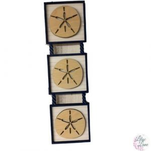 Shiplap Sand Dollar Wall Decor
