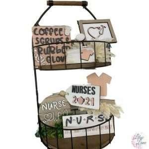 Nursing Tiered Tray Set