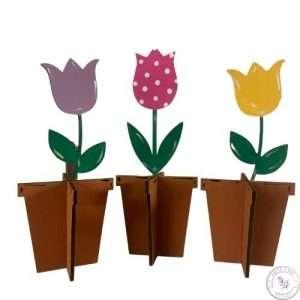 3D Tulip Trio Set